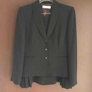 Brown Tahari Skirt Suit